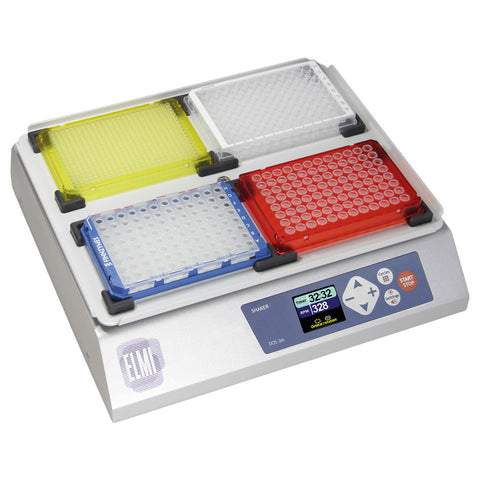 ELMI DOS-3M Digital Orbital Microplate Shaker 3mm Amplitude with Medium Platform