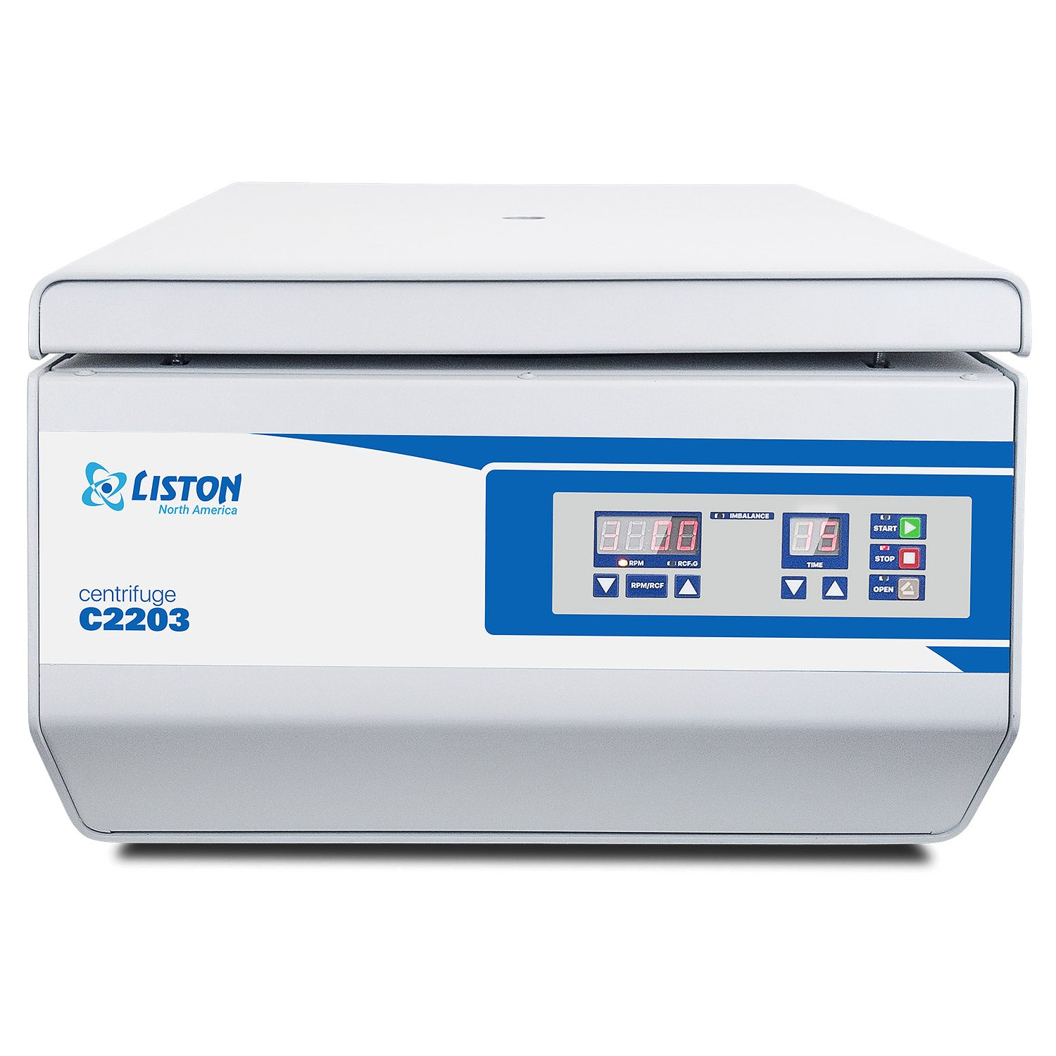 LISTON C2203 Swing-Out Benchtop Centrifuge with Rotor Included for Clinical and Research Use