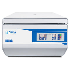 LISTON C2203 Swing-Out Benchtop Centrifuge | with Rotor Included for Clinical and Research Use