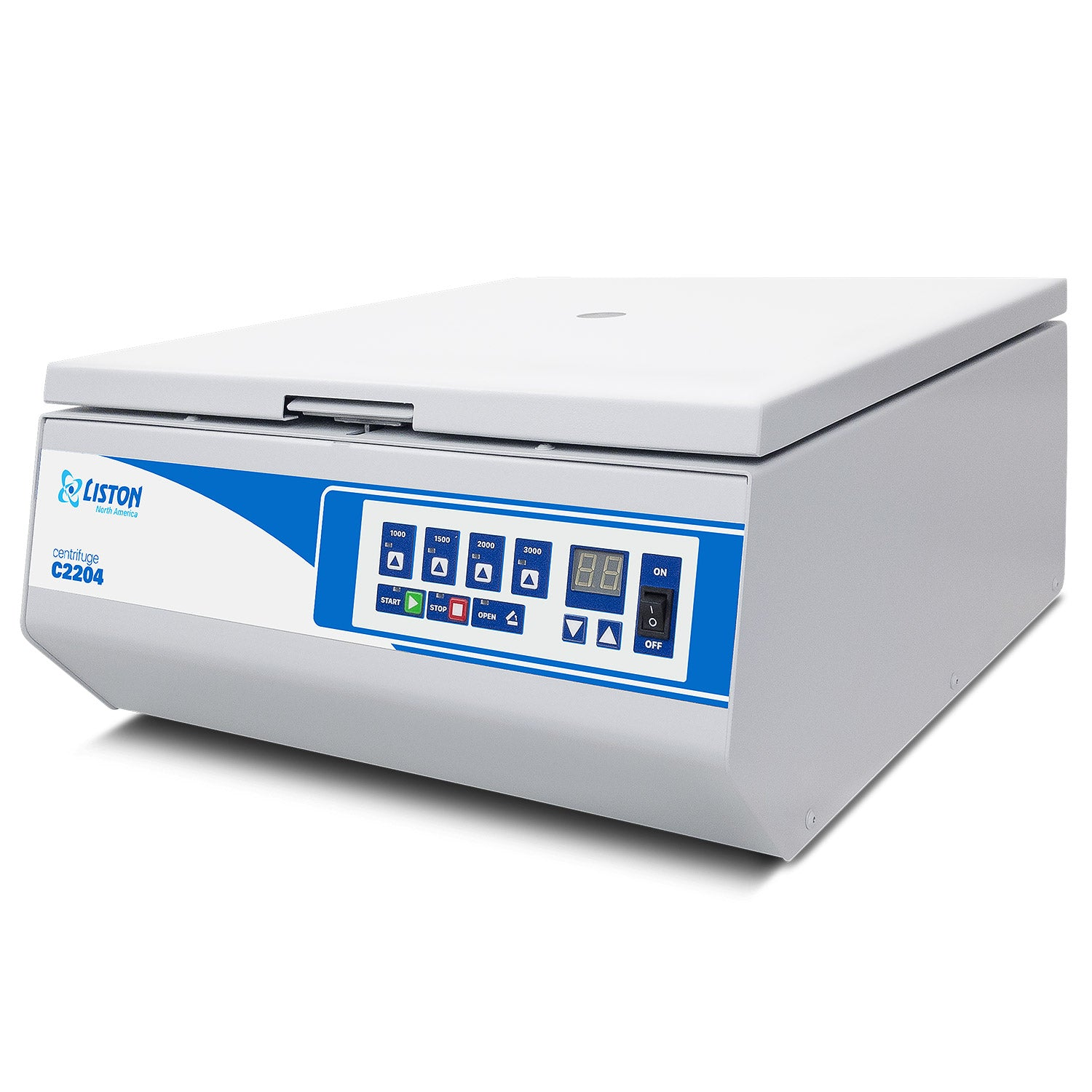LISTON C2204 Swing-Out Benchtop Centrifuge | with Rotor Included for Clinical and Research Use