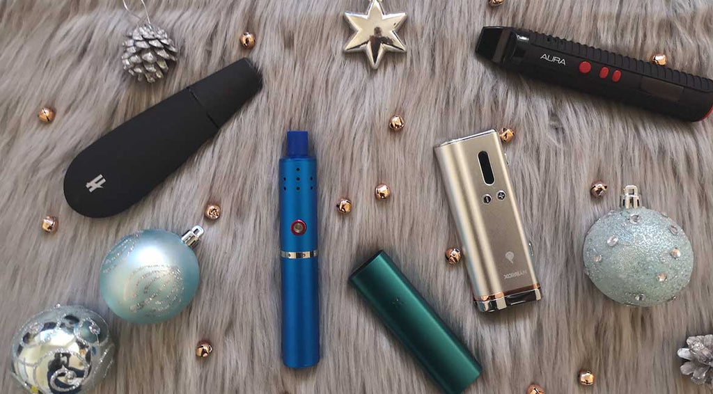 Collection of UK Vaporizers.