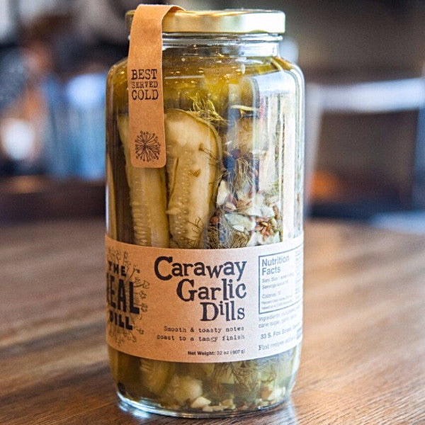 The Real Dill Caraway Garlic Dills