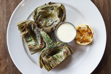 Wood-Grilled Artichoke