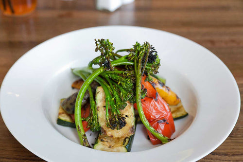 Seasonal Oak-Grilled Vegetables