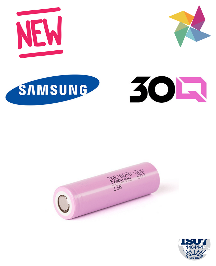 Samsung 30Q Battery 300mAh (18650)