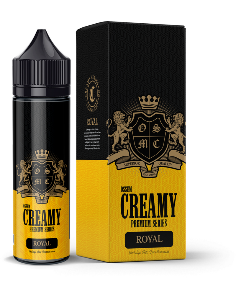 Royal Creamy - Caramel Vanilla Wafer - Ossem