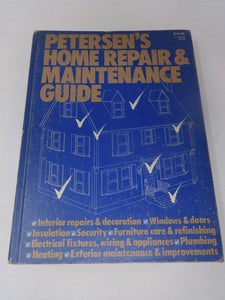 Book Petersen's Home Repair & Maintenance Guide by Allen D. Bragdon Publishers