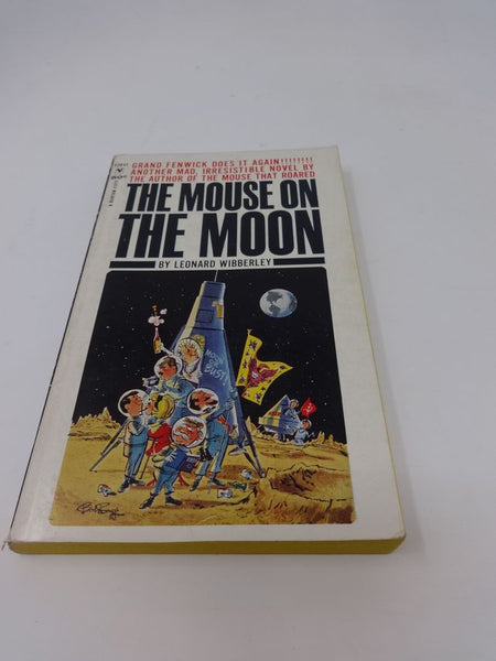 The Mouse on the Moon by Leonard Wibberley Book