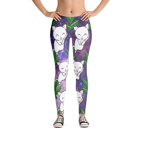 Galaxy Trees Leggings