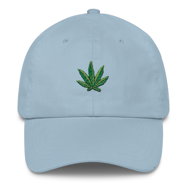 Weed leaf Dad Cap