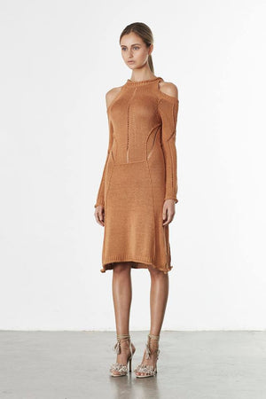 Elliatt Influence Dress Toffee