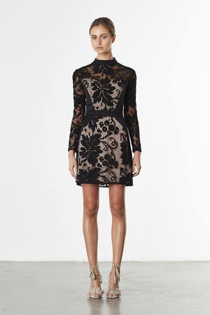 Elliatt Muse Sleeved Dress