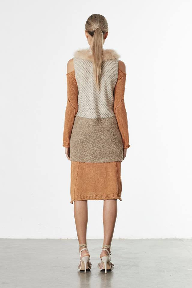 Elliatt Gaze Knit Vest
