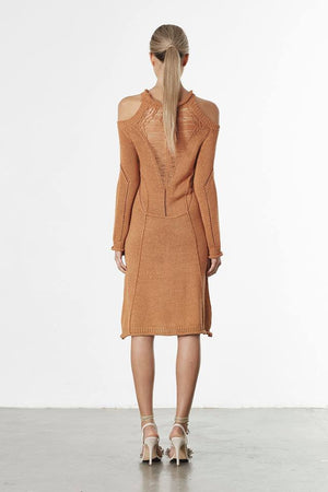 Influence Dress Toffee