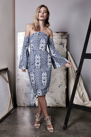 Elliatt Manet Midi Dress