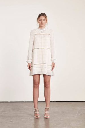 Elliatt Aura Dress White