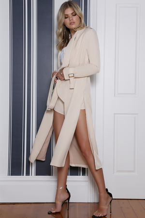 Runaway The Label Evolve Duster Coat