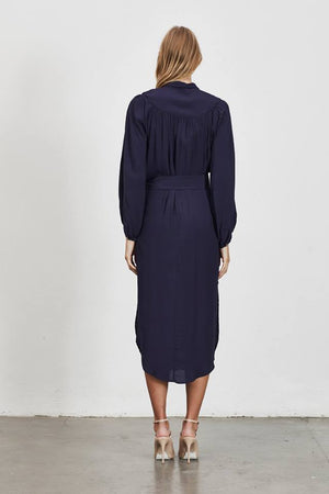 Ladies Navy Dress - Elliatt -Chorus Shirt Dress