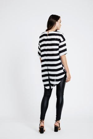 Stripe Razzle Dazzle Top