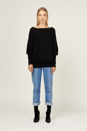 MVN Love Him Asymmetric Knit