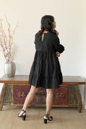 Lululocco Dress Black