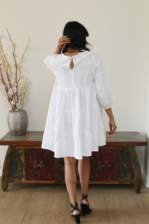 Lululocco Dress White