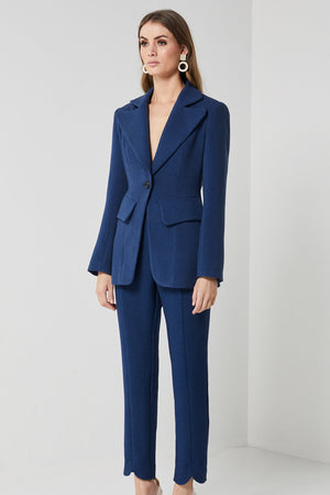 Ladies Indigo Jacket-Elliatt-Anecdote Blazer