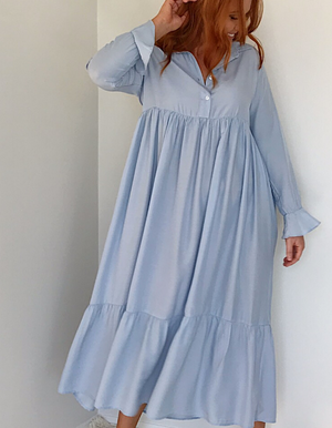 Audrey Dress Sky Blue