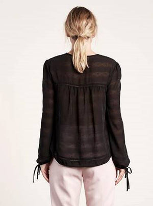 Aura Top Black