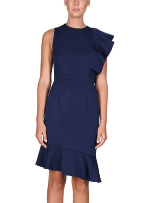 Ladies Navy Dress - Cooper St - Canyon Shadows Dress Navy
