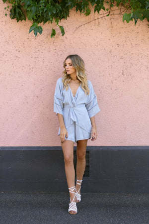 Lost in Lunar Cross My Heart Playsuit