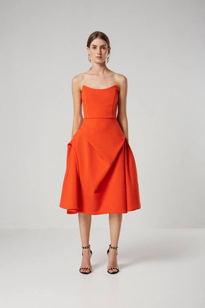 Delight Dress - Elliatt - Ladies Dress - Tangerine - Orange