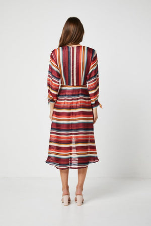 Striped Ladies Dress-Elliatt-Edie Dress
