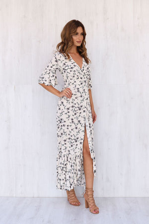 Lost in Lunar Elderflower Maxi Dress