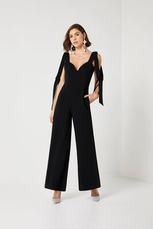 Ladies Jumpsuit - Black - Ellen Jumpsuit - Elliatt