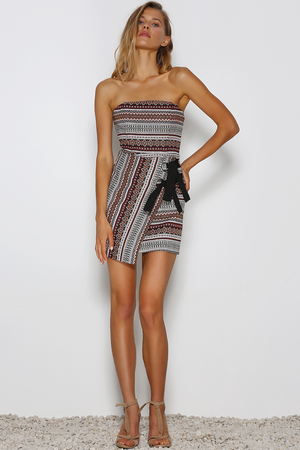 Magic Carpet Mini Dress