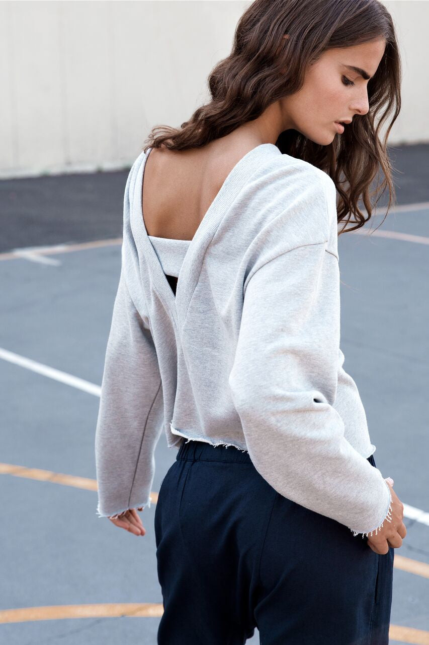 Nude Lucy Le Bron V Back Sweat
