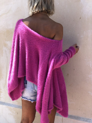 Soft Off the Shoulder Knit-Bagira-Jewel Knit