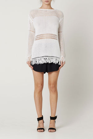May the Label Kandall Crochet Top