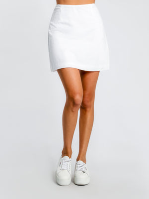 Ladies Mini Skirt-Nude Lucy-Malloy Skirt