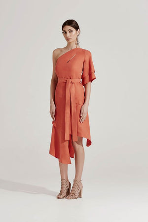 Bless'ed are the Meek Maze Midi Dress