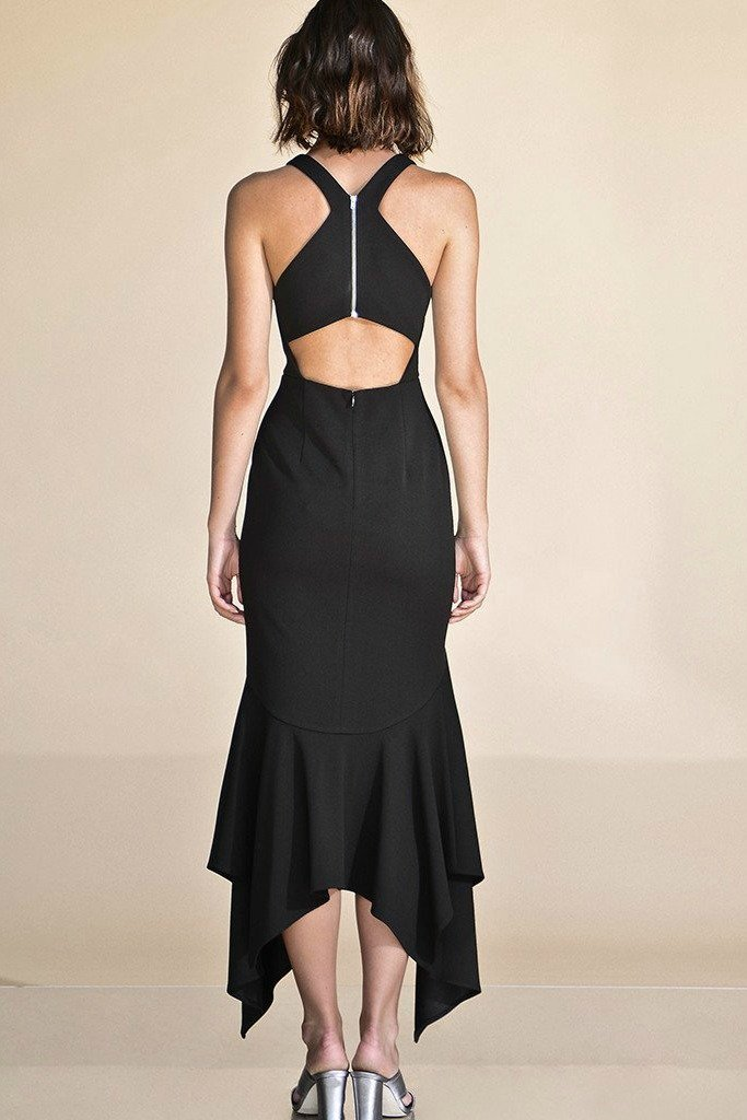 Ladies Black evening dress-PS the label-Midnight Allure Dress