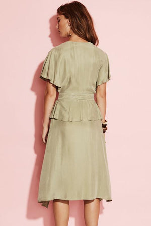 Ladies Sage Dress -August St - New National Midi Dress