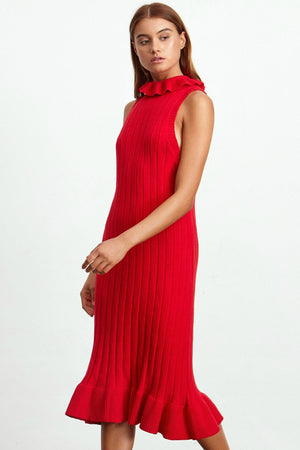 Ladies Knit Dress-Elliatt-Pomodoro Knit Dress