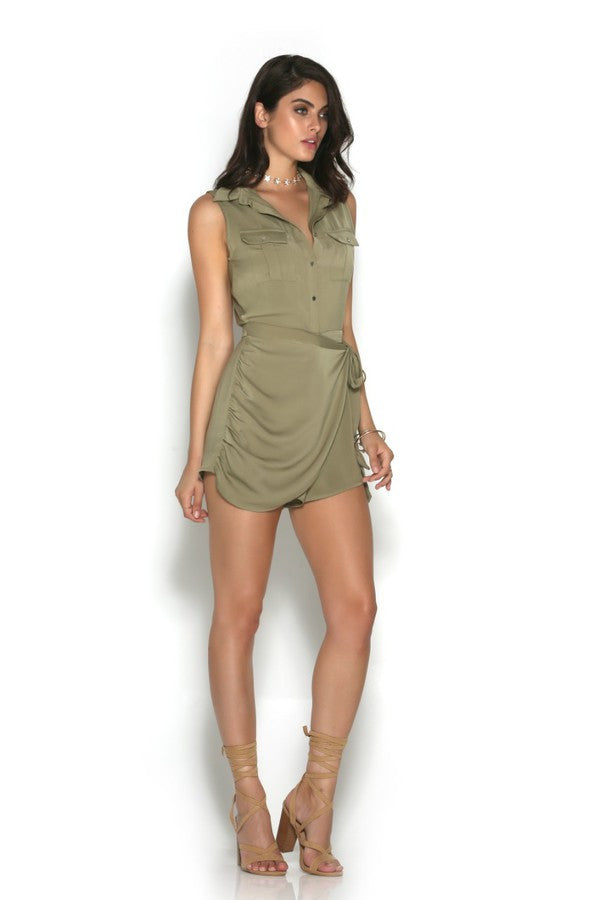 Runaway The Label Quest Playsuit
