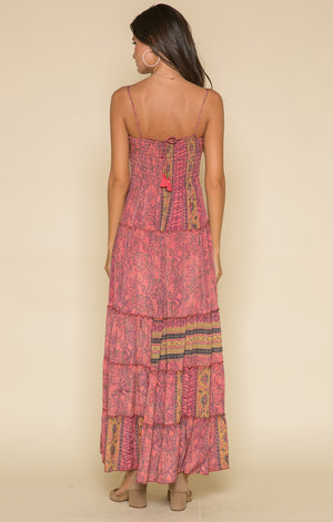 Passion Struck Smocked Maxi
