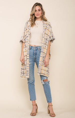 Poncho-Raga-Dulce Open Front Sweater