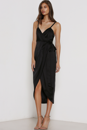 Premonition Moments Wrap Dress