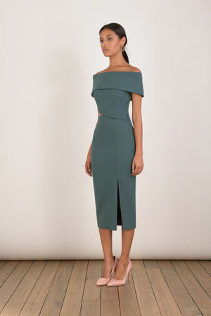 Ladies midi dress-Elliatt-Serpentine Dress