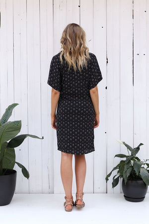 Crescent Moon Shirt Dress